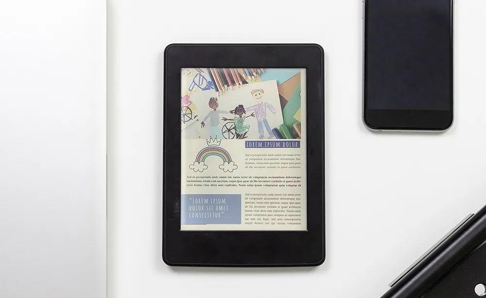 元太科技发布最新一代彩色印刷电子纸技术 E Ink Kaleido™ Plus