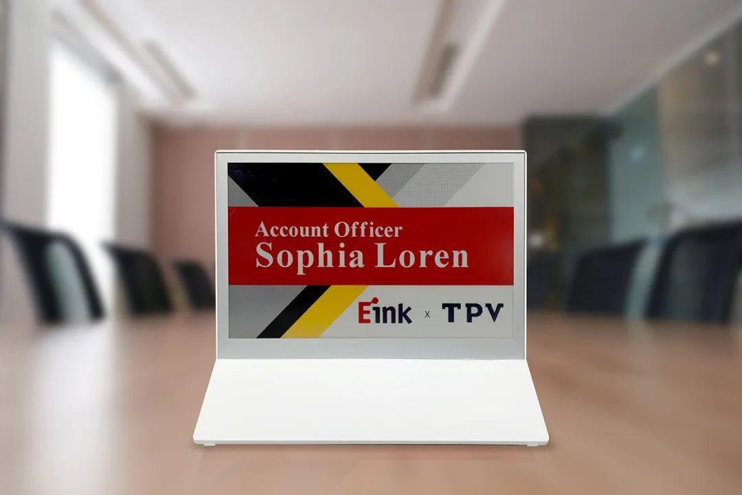E Ink Spectra™ 3100获冠捷科技采用 推出7.3英寸彩色电子纸广告牌