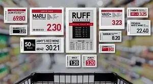 电子货架标签推动多渠道零售行业数字化转型