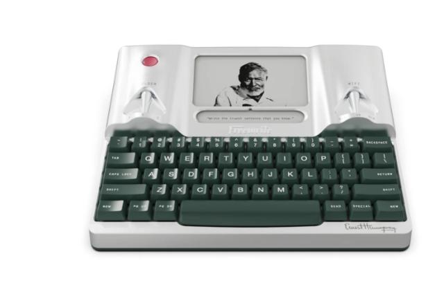 """智能""""码字神器""""来了!墨水屏+机械键盘,还能连wifi,上市就卖光 智能""""码字神器""""来了!墨水屏+机械键盘,还能连wifi,上市就卖光  电子墨水 电子纸 电子墨水屏 EINK 墨水屏 水墨屏 川奇光电 eink 元太科技 墨水屏打字机 电子纸打字机 电子纸码字神器 第8张"""