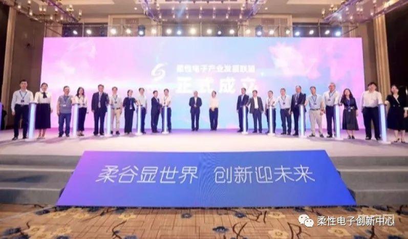 全国首个柔性电子产业发展联盟在成都高新区成立